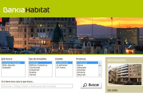 Los activos inmobiliarios de Bankia, en sólo una sociedad
