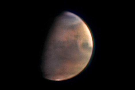Imagen de Marte captada por la sonda 'Mars Express'. |ESA