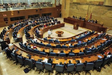 Cámara de la Asamblea de la Comunidad de Madrid. | Bernardo Díaz