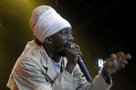 El cantante jamaicano Sizzla