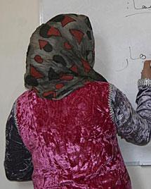 Una mujer en Marruecos. | Efe