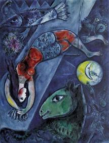 'El circo azul' (1950-52).