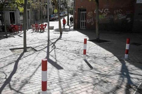 Cruce del barrio de La Florida donde se produjo el enfrentamiento. | Santi Cogolludo