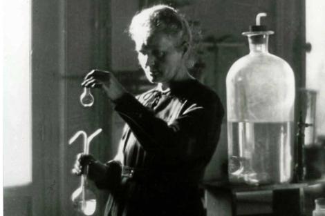 Marie Curie, en su laboratorio. | El Mundo