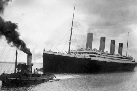 El Titanic parte de Southampton. | AFP/Southampton City Council