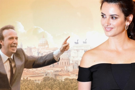 Los actores Roberto Benigni y Penlope Cruz. | Afp