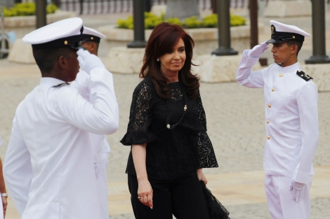 Cristina Fernndez de Kirchner, en la cumbre de Cartagena de Indias. | Reuters