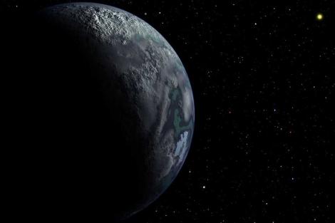 Recreación de un planeta vagabundo en una galaxia lejana.| Harvard Smithsonian.