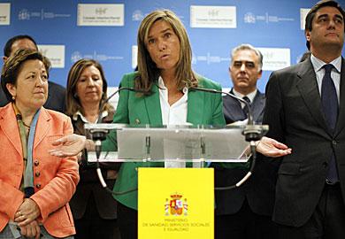 La ministra de Sanidad, Ana Mato.| Reuters