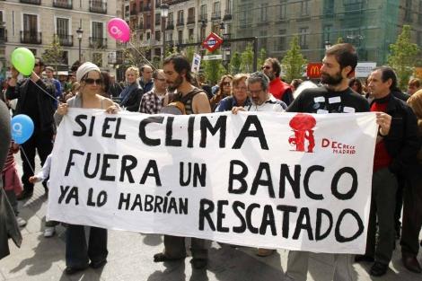 Celebración del Día de la Tierra en Madrid en 2012. | Efe