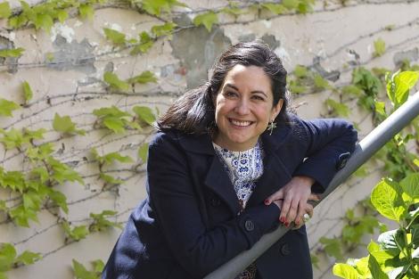 La escritora Amaya Ascunce. | Foto: Javi Martínez