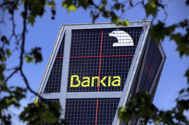 Sede de Bankia en Madrid. | Reuters