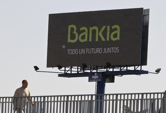 Un cartel de Bankia en Madrid. | Reuters