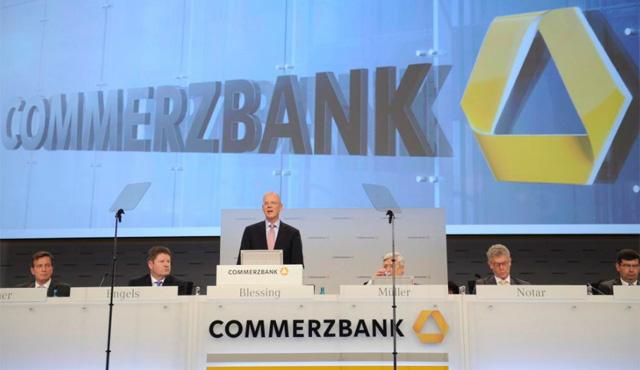 Commerzbank necesitó 8.200 millones del Estado alemán en 2008.   Efe