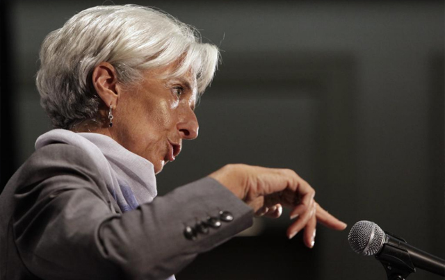 La directora gerente del FMI, Christine Lagarde. | Reuters