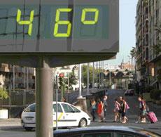 Sevilla, a 46 grados. | Carlos Márquez