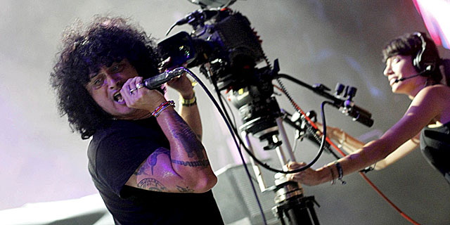 El vocalista de At the Drive-In, Cedric Bixler-Zavala. | Efe
