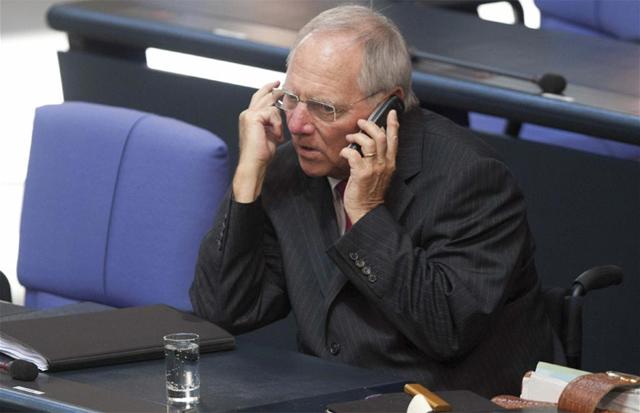 El ministro alemán de Finanzas, Wolfgang Schäuble. | Efe