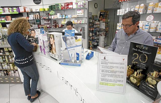 Una farmacia en Valladolid. | Pablo Requejo