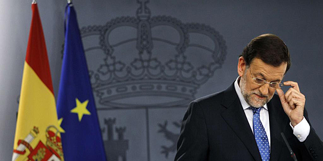 Mariano Rajoy, este viernes en La Moncloa. | Reuters