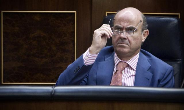 El ministro de Economía, Luis de Guindos. | Alberto di Lolli
