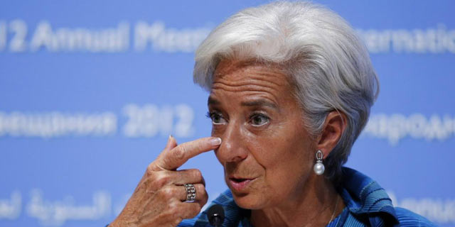 La directora gerente del FMI, Christine Lagarde, en la cumbre de Tokio. | Reuters