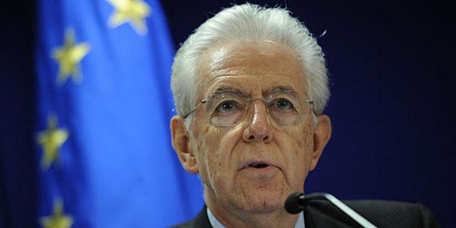 El primer ministro de Italia, Mario Monti, en una comparecencia reciente. | Afp