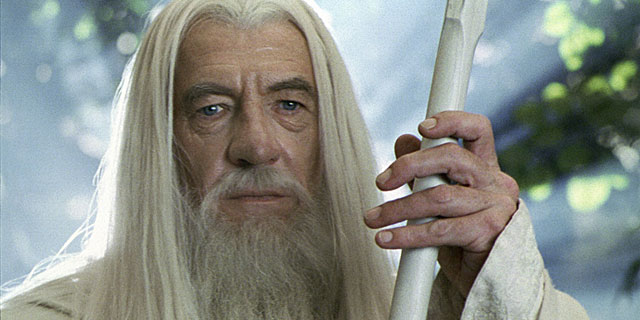 El actor, caracterizado como Gandalf en 'El señor de los anillos'. | Gtres