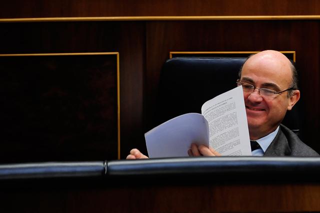 El ministro de Economía en una imagen reciente en el Congreso. | Bernardo Díaz