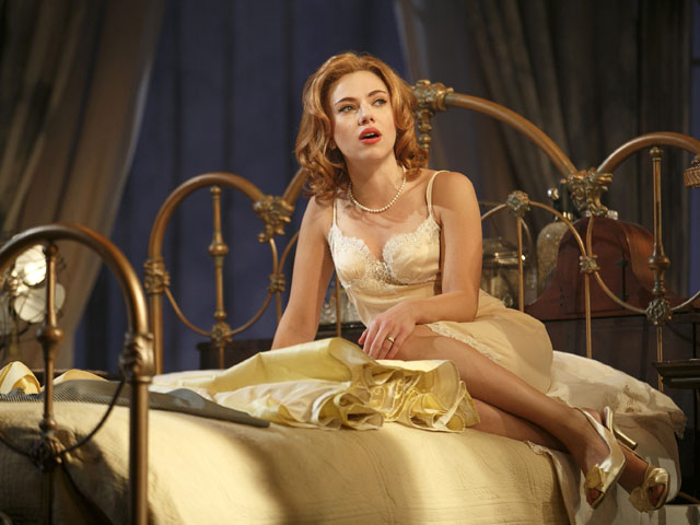 Scarlett Johansson, en 'La gata sobre el tejado de zinc'. | Gtres