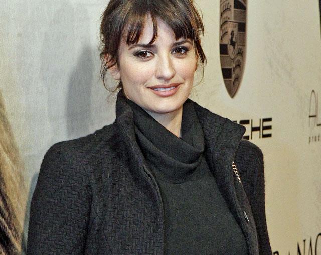 Imagen de Penélope Cruz el pasado enero