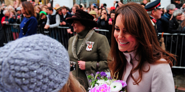 Kate Middleton, la Duquesa de Cambridge.