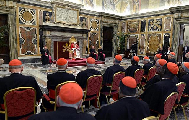 Benedicto XVI promete 'respeto incondicional' al nuevo Papa. | Foto: Efe