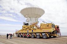 Transportador de antenas. | ESO