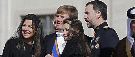 Los Príncipes de Asturias y los Príncipes de Holanda. | MÁS IMÁGENES