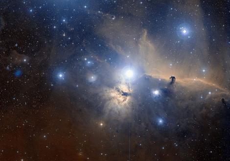 Vista de gran campo de Orión en el visible| ESO