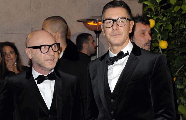 Domenico Dolce y Stefano Gabbana en una imagen de 2012.| Gtres