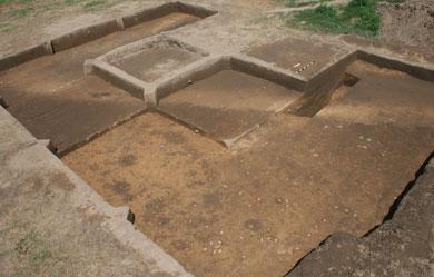 Restos del Fuerte San Juan hallados en Carolina del Norte. | Univ. de Michigan
