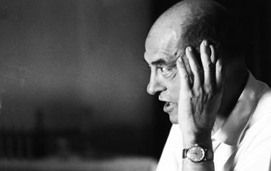 Retrato de Buñuel por José Luis Alcaine.