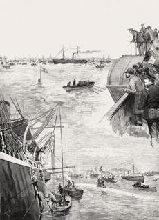 Pruebas realizadas el 5 diciembre de 1889. | Imagen cedida por Javier Sanmateo