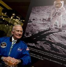 El astronauta del'Apollo 11'Buzz Aldrin.|EM
