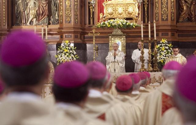 El presidente de la Conferencia Episcopal Española, Antonio María Rouco Varela. | Madero Cubero