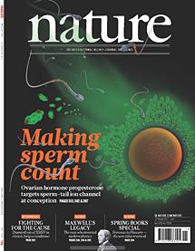Portada del último número de 'Nature'