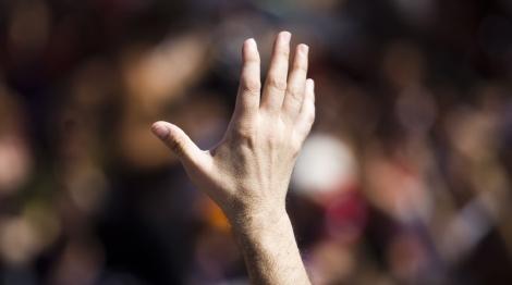 El tamaño del pene está en los dedos de la mano