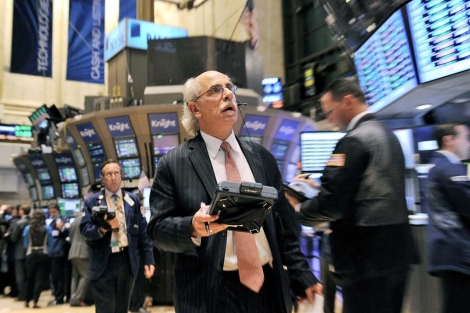 Un corredor de la Bolsa de Valores de Nueva YOrk (EEUU). | Efe