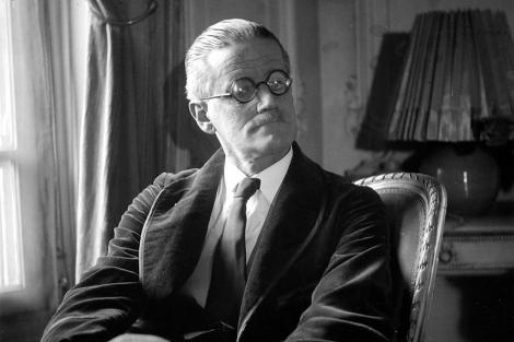 Imagen del escritor James Joyce