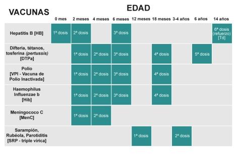 Habr   Un   Nico Calendario De Vacunaci  N Infantil Y De Servicios