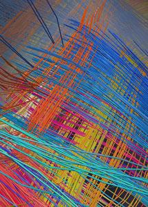 Imagen del cerebro de un mono que se asemeja a una rejilla de cables eléctricos. | 'Science'