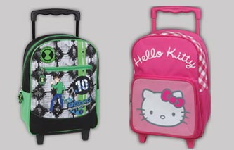 Promociones El Mundo - Kit vuelta al cole de Hello Kitty y Ben 10 alienforce