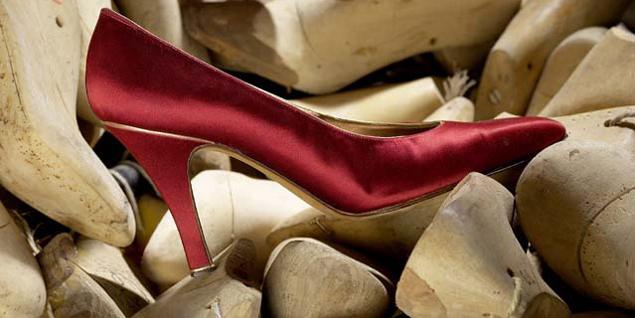 Zapato fabricado por Massaro.